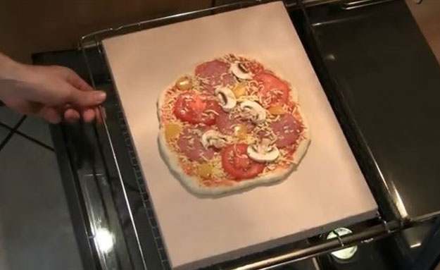 Der Pizzastein – Pizzagenuss zuhause wie beim Italiener